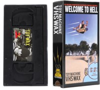 Toy Machine VHS Wax - welcome to hell/black