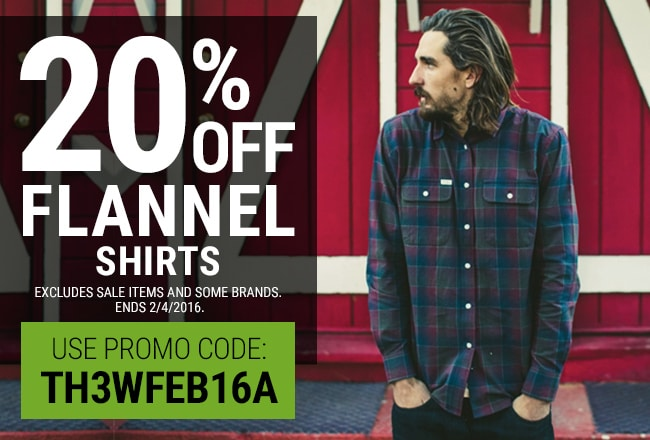 25% Off Fannel Shirtxs