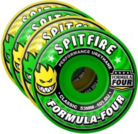 Spitfire Formula Four Classic Skateboard Wheels - coolaid mash (101d)