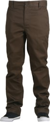 Brixton Fleet Rigid Chino Pants - brown