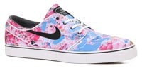 Nike SB Zoom Stefan Janoski Canvas Premium Skate Shoes - dynamic pink/black/white/gum light brown