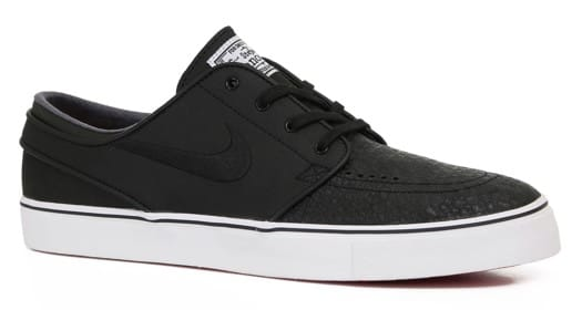 Nike SB Zoom Stefan Janoski Leather Skate Shoes - view large