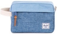 Herschel Supply Chapter Dopp Kit - limoges crosshatch/chambray crosshatch/natural