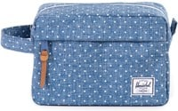 Herschel Supply Chapter - limoges crosshatch/white polka dot