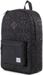 Herschel Supply Heritage Backpack - black khatam rubber