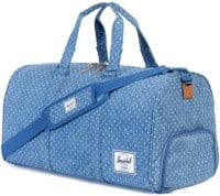 Herschel Supply Novel Duffle Bag - limoges crosshatch/white polka dot