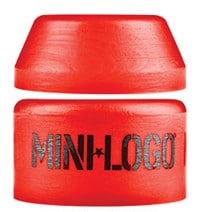Mini Logo Hard Skate Bushings (1 Truck) - red