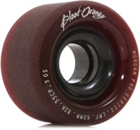 Blood Orange Morgan Pro Longboard Wheels - 60 maroon/smoke core (82a)