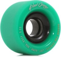 Blood Orange Morgan Pro Longboard Wheels - 60 turquoise/smoke core (80a)