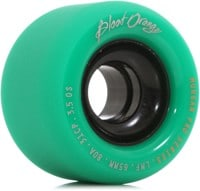 Blood Orange Morgan Pro Longboard Wheels - 65 turquoise/smoke core (80a)