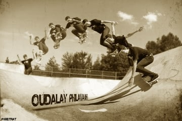 Oudalay Philavanh on Tactics Skate Team
