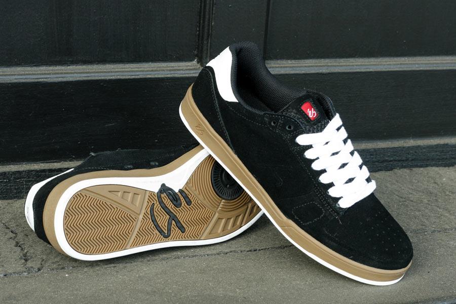Es Es Edward Grey/Orange Skate Shoes - Es from Native Skate Store UK