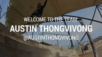 Tactics Welcomes Austin Thongvivong To Its Skate Team