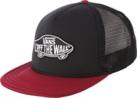 Vans Classic Patch Trucker Hat - black/rhubarb