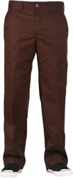 Dickies Industrial Regular Straight Work Pants - chocolate brown