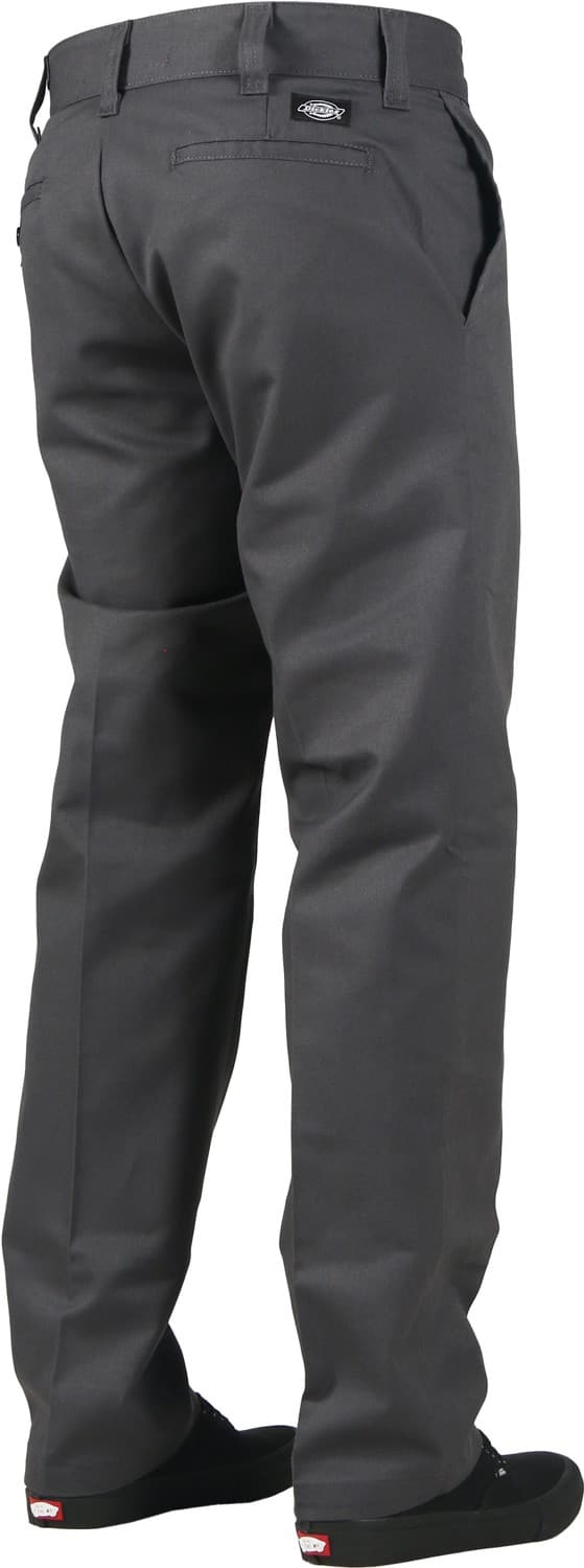 Dickies Industrial Slim Straight Work Pants Charcoal