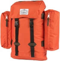 Poler Retro Rucksack Backpack - burnt orange
