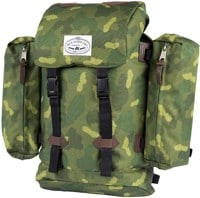 Poler Retro Rucksack Backpack - green camo