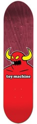 Toy Machine Monster 8.125 Skateboard Deck - maroon