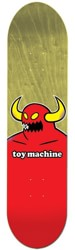 Toy Machine Monster 8.125 Skateboard Deck - yellow