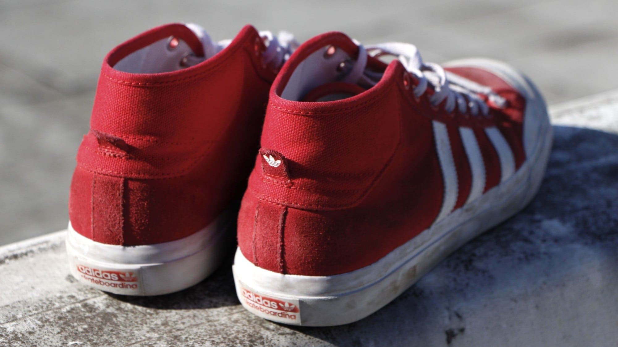 brand new 62393 3a4ae adidas Matchcourt Mid Skate Shoes Wear Test Review