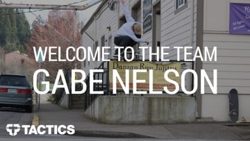 Gabe Nelson | Welcome to the Team