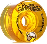 Sector 9 70mm Top Shelf Nineball Longboard Wheels - yellow (78a)