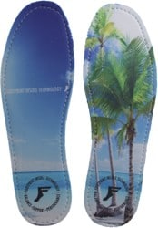 Footprint King Foam Gold Hi-Profile Insole - beach