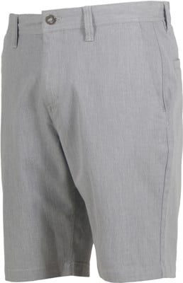 Volcom Frickin Modern Stretch Shorts - gray heather - view large