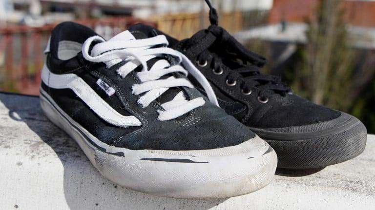 Rubber Toe Cap Skate Shoes Wear Test