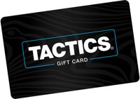 Tactics Email Gift Certificate