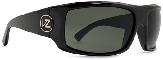 Von Zipper Clutch Sunglasses - black gloss/grey lens - view large