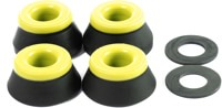 Bones HardCore Medium Skate Bushings (2 Truck Set) - black