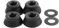 Bones HardCore Hard Skate Bushings (2 Truck Set) - black