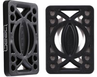 Bear Hard Flat Riser Pads Set - black 1/4in v2