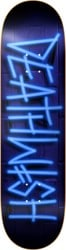 Deathwish Deathspray 8.0 Skateboard Deck - neon sign