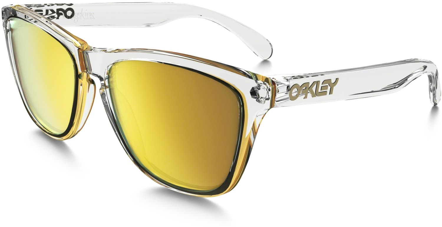 oakley clear lenses 91qz  crystal clear w/24k iridium lens