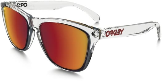 9599eaccfa Oakley Frogskins Sunglasses Crystal | United Nations System Chief ...