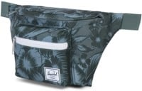 Herschel Supply Seventeen Hip Pack - jungle floral green