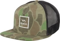 RVCA VA All The Way III Trucker Hat - olive camo