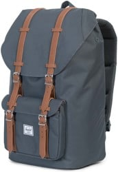 Herschel Supply Little America Backpack - dark shadow/tan