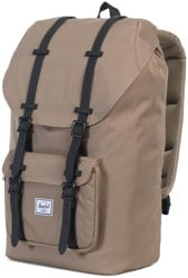 Herschel Supply Little America Backpack - lead green/black rubber