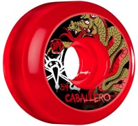 Bones Caballero SPF Skateboard Wheels - dragon clear red (84b)