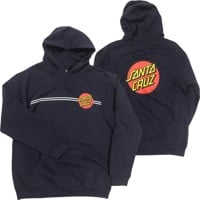 Santa Cruz Youth Classic Dot Pullover Hoodie - navy