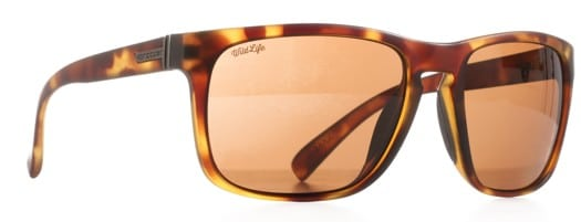 Von Zipper Lomax Polarized Sunglasses - tortoise gloss/bronze wildlife polar lens - view large