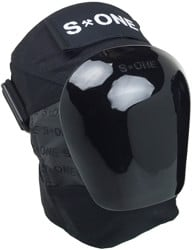 S-One S1 Pro Knee Pads - black/black gloss cap