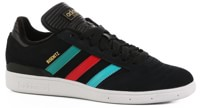 Adidas Busenitz Pro Skate Shoes - black/eqt green/scarlet