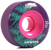 Orangatang Skiff Slasher Skateboard Wheels - purple (83a)