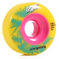Orangatang Skiff Slasher Skateboard Wheels - yellow (86a)