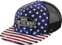 Vans Classic Patch Plus Trucker Hat - americana